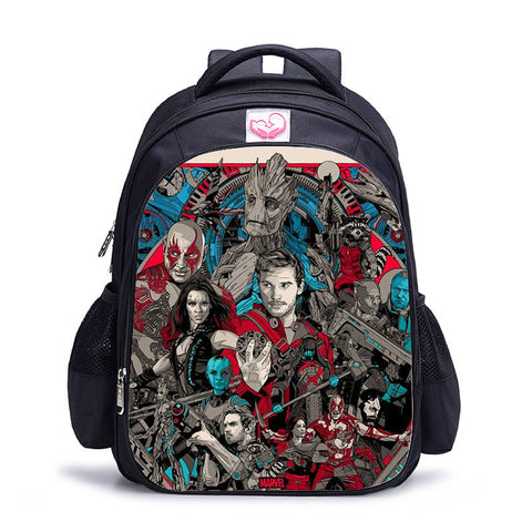 Sac à dos à l'effigie du Super Heros Marvel Star Groot Bande Dessinée