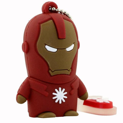 Clé usb à l'effigie du Super Heros Marvel Iron Man