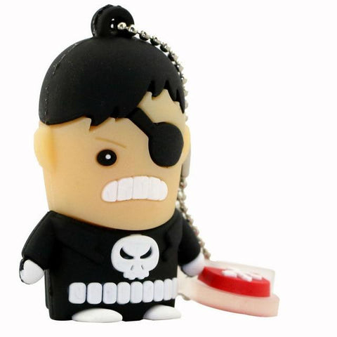 Clé usb à l'effigie du Super Heros Marvel The Punisher