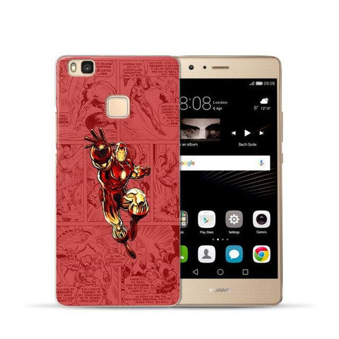 Coque Huawei à l'effigie du Super Heros Marvel Iron Man