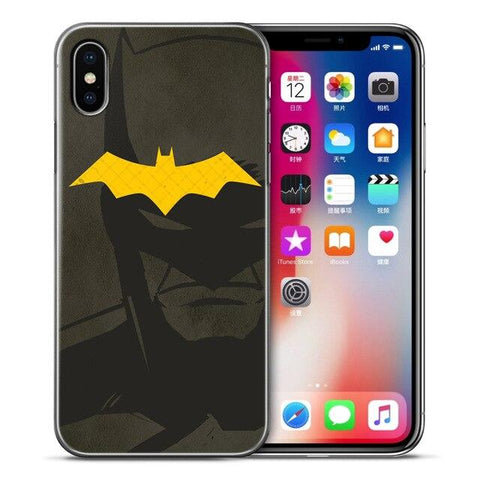 Coque iPhone à l'effigie du Super Heros DC Comics Batman Logo