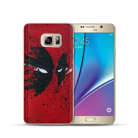 Coque Samsung à l'effigie du Super Heros Marvel Deadpool