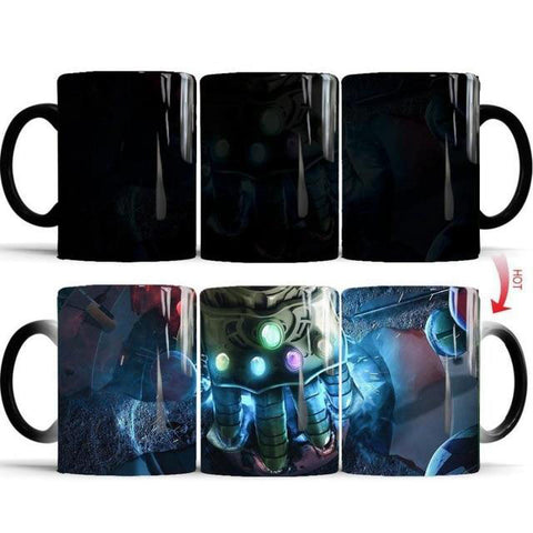mug thermosensible à l'effigie de Thanos, Super Vilain Marvel