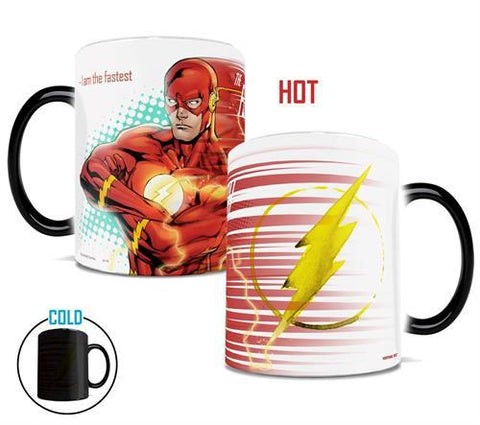 mug thermosensible à l'effigie du Super Heros DC Comics Flash