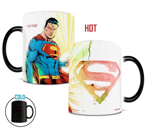 mug thermosensible à l'effigie du Super Heros DC Comics Superman