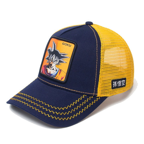 Casquette Dragon Ball Z Goku Marine et Orange