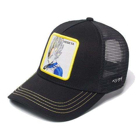 Casquette Dragon Ball Z Vegeta Noir