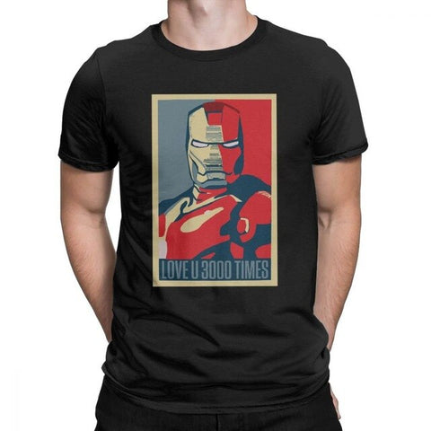 T-shirt Marvel </br>Iron Man Poster
