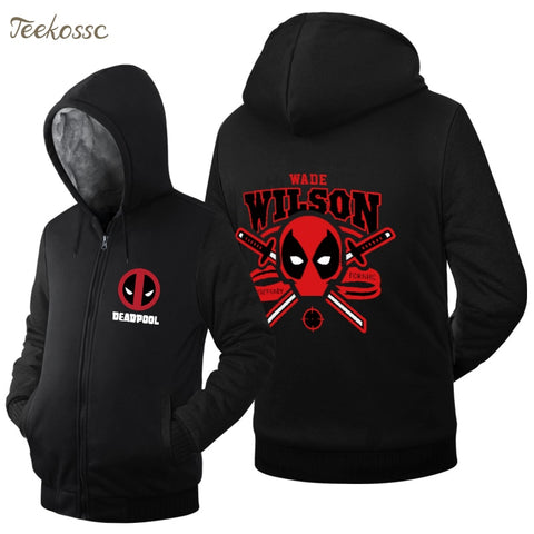 Veste Super Heros <br/>Polaire Deadpool Wilson