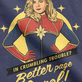 T-shirt Marvel </br>Captain Marvel Stars