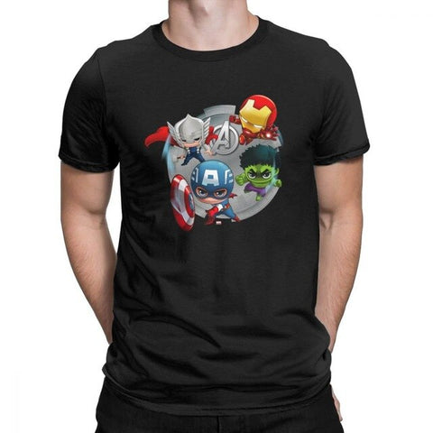 T-shirt Marvel </br>Super-héros Mini