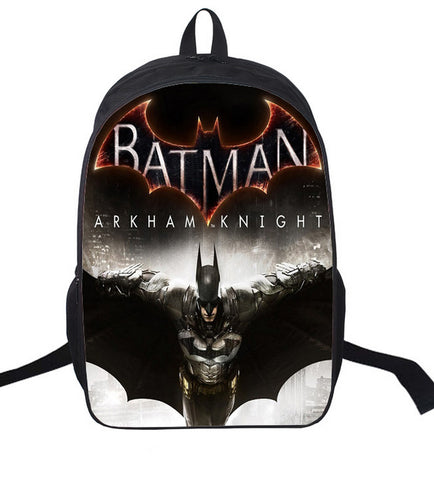 Sac à dos à l'effigie du Super Heros Batman Arkham Knight
