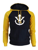 Sweat Dragon Ball Z Symbole Royale Noir et Jaune