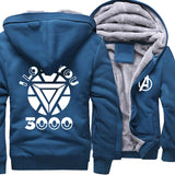 Veste Avengers Polaire I Love You Bleu