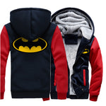 Veste Super Heros Batman Bleue Marine et Rouge