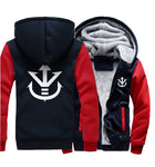 Veste Dragon Ball Z Saiyan Marine et Rouge
