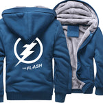 Veste Super Heros Polaire Flash Bleue