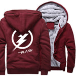 Veste Super Heros Polaire Flash Bordeaux