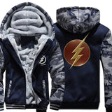 Veste Super Heros Flash Camo Marine