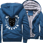 Veste Super Heros Polaire Black Panther Bleu