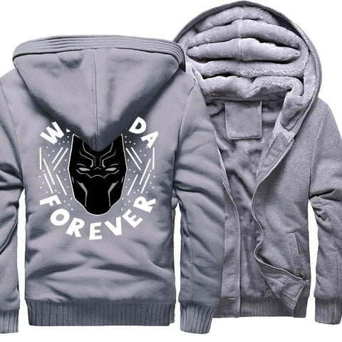 Veste Super Heros Polaire Black Panther Gris