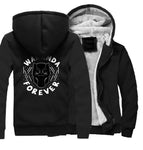 Veste Super Heros Polaire Black Panther Noir
