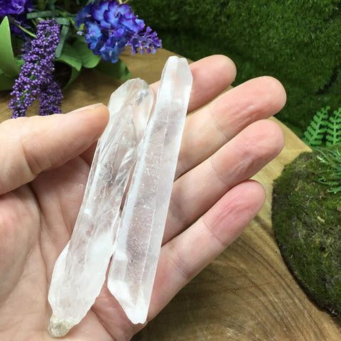 Discovering healing crystals abilities of growth interference crystals