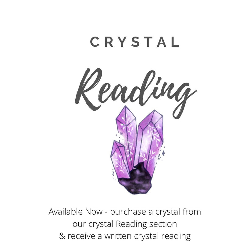 Crystal Reading Stones.