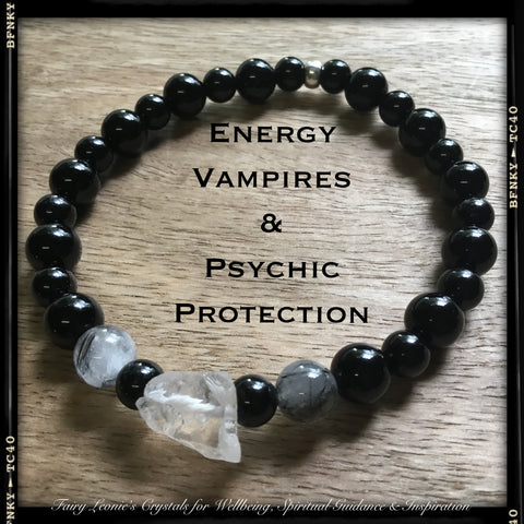PSYCHIC PROTECTION ENERGY VAMPIRE PROTECTION Bracelet