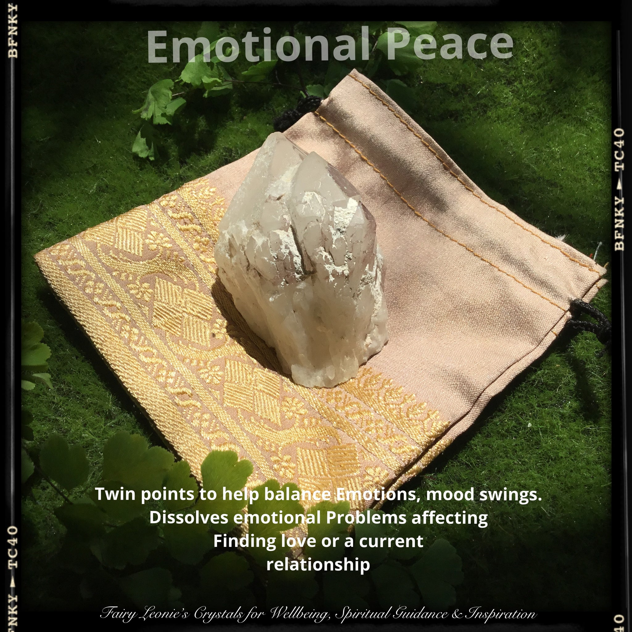 Crystals for Peace- Lithium Quartz