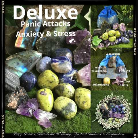 Fairy Leonie's STRESS & ANXIETY Deluxe Crystal Kit