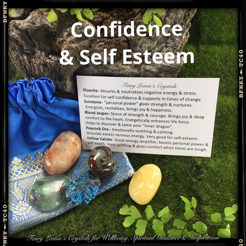Confidence & Self-Esteem Crystal Prescription Kit