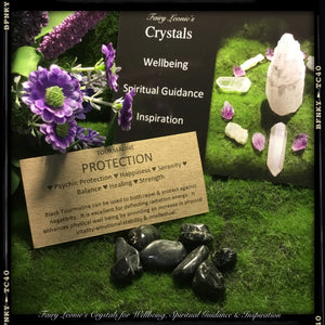 "DIY Crystal Grid Mini Pack ""PROTECTION & HEALING"""
