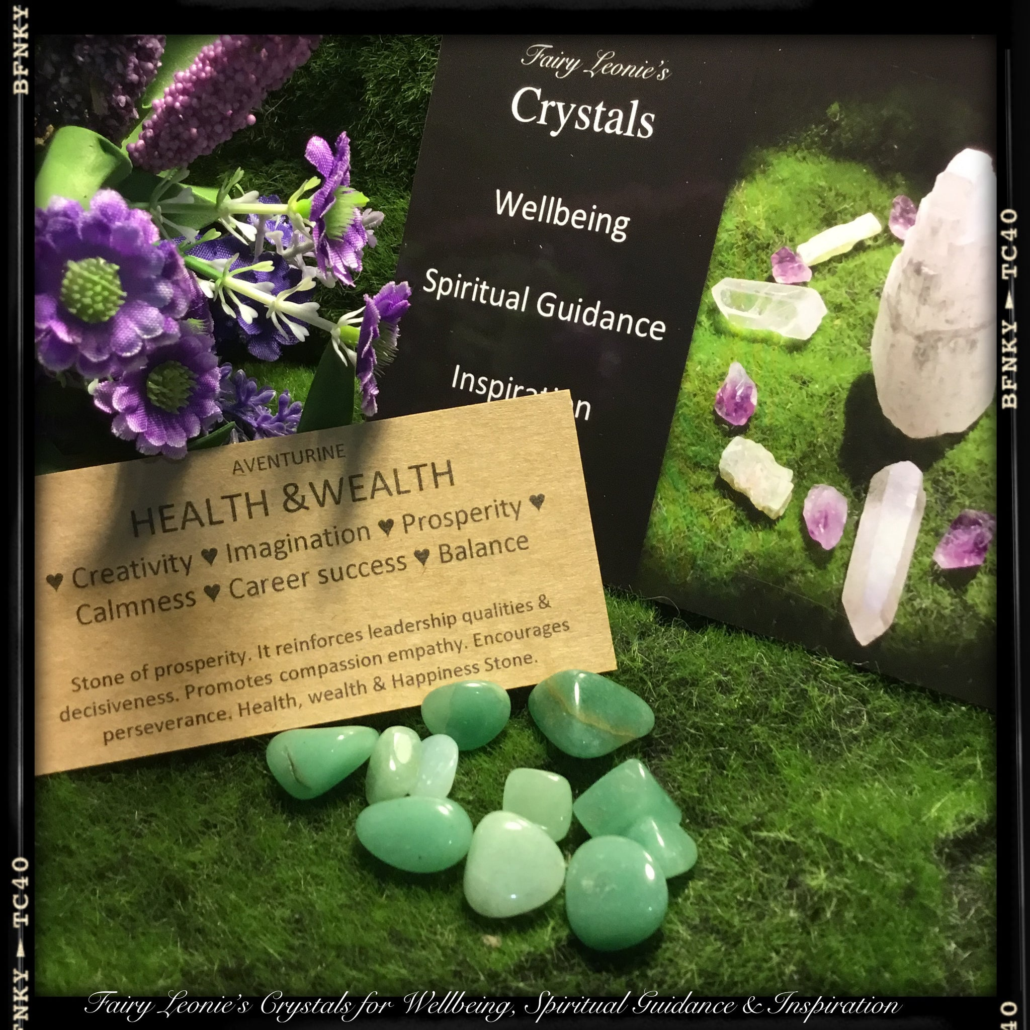 "DIY Crystal Grid Mini Pack ""HEALTH & WEALTH"""