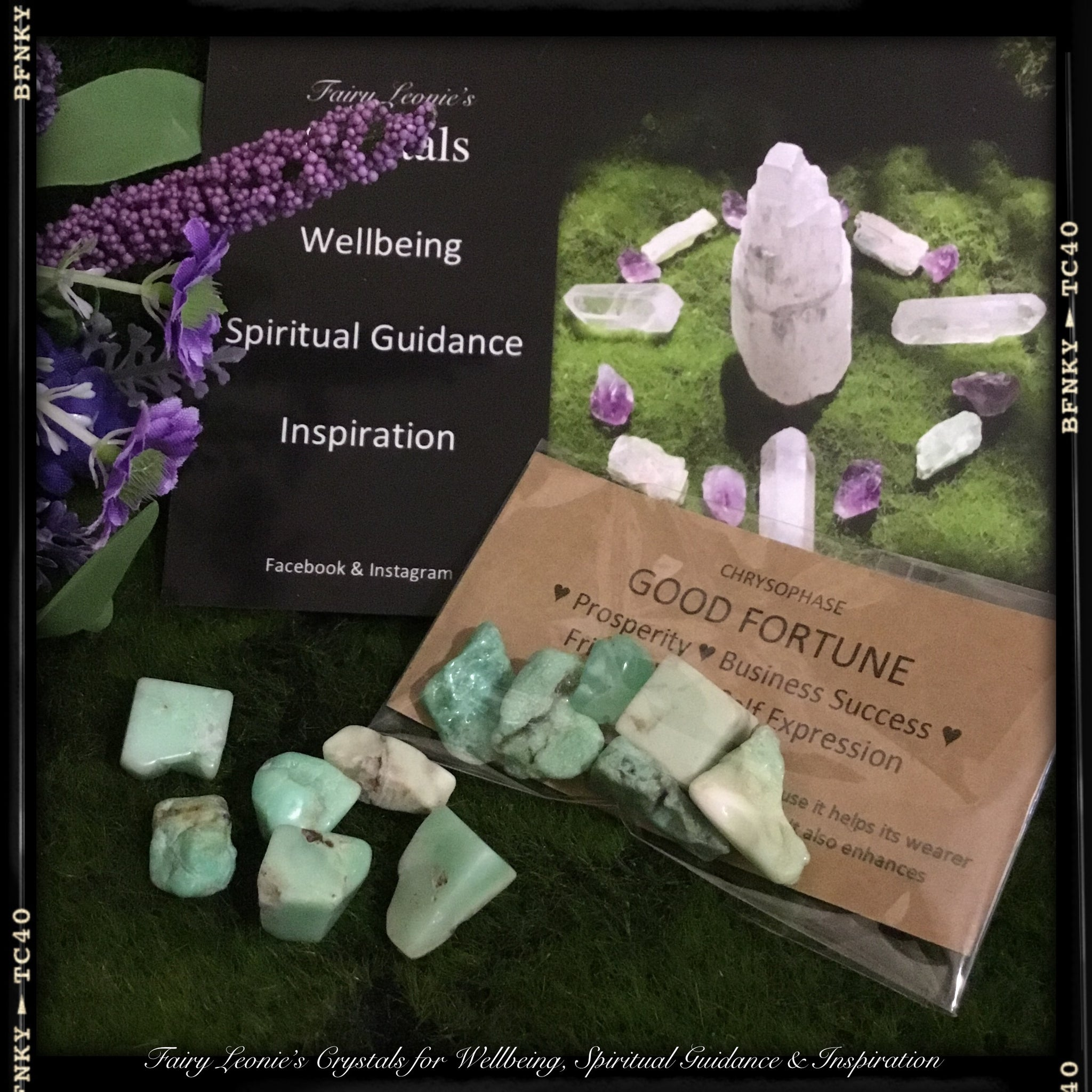 "DIY DELUXE GRID MINI STONES ""HEALING A BROKEN HEART"""