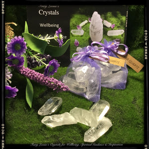 "DIY Crystal Grid Mini Pack ""HARMONY & POSITIVITY"""
