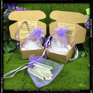Crystals for Healing & Wellbeing- Needle Quartz Healers Pack