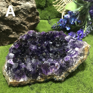UNEARTHED TREASURE- Uruguay Amethyst Clusters