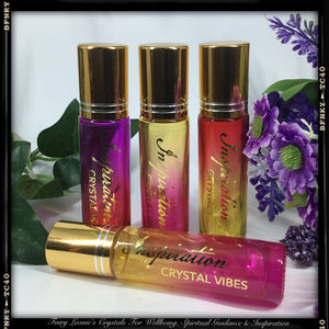 "SCENTUAL DELIGHTS ""INSPIRATION"" Crystal Vibes Essential Oil Perfume"