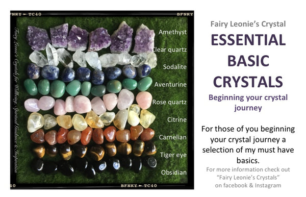 Beginning Your Crystal Journey ESSENTIAL DELUXE KIT
