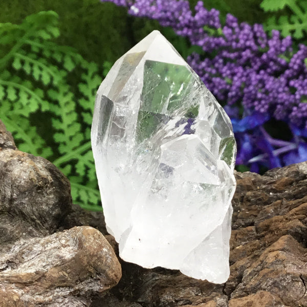 UNEARTHED TREASURE. Clear Quartz Natural Point 002