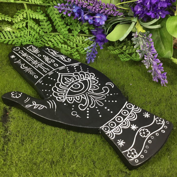 Hand of Fortune Incense Holder Altar Plate
