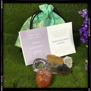 cancer support crystal prescription kit