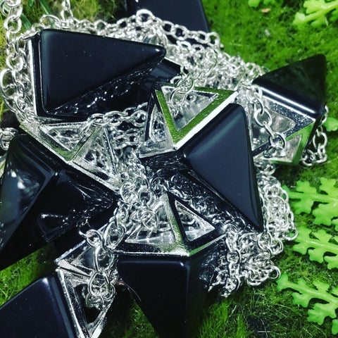 Wearable Energy Pyramid Necklaces
