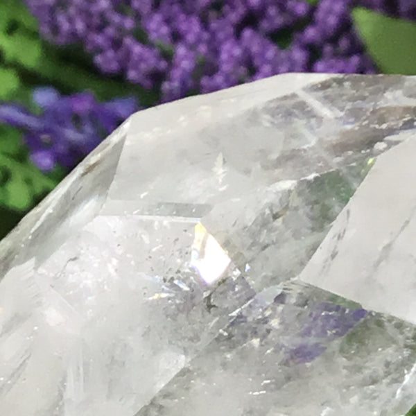 UNEARTHED TREASURE. Clear Quartz Natural Point 004