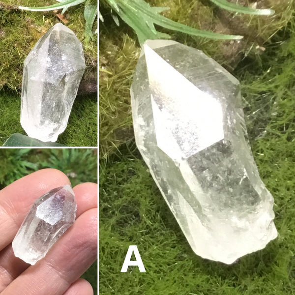 Unearthed Crystal ISIS FACE CLEAR QUARTZ CRYSTAL