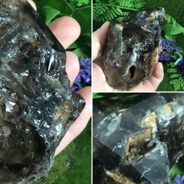 UNEARTHED CRYSTALS- Smoky Elestial Specimen #5