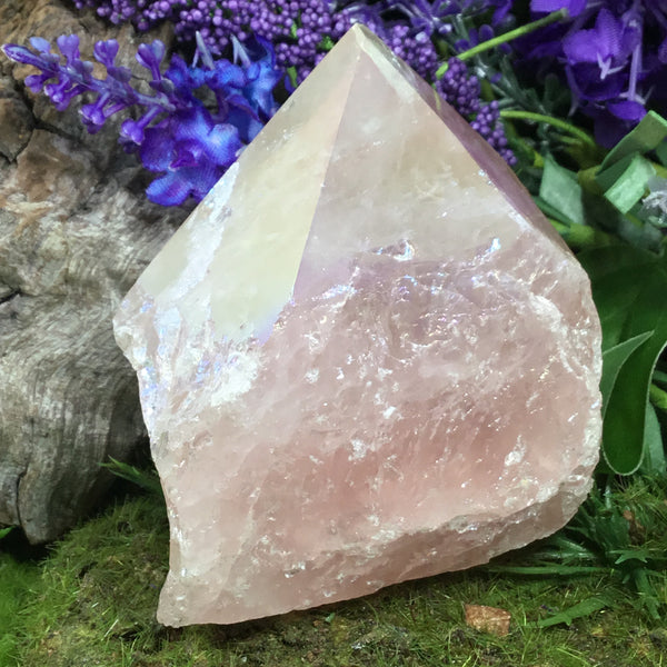 CRYSTALS FOR LOVE- Rose Quartz Aura Point #2