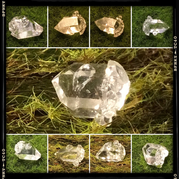 herkimer diamond multipul views