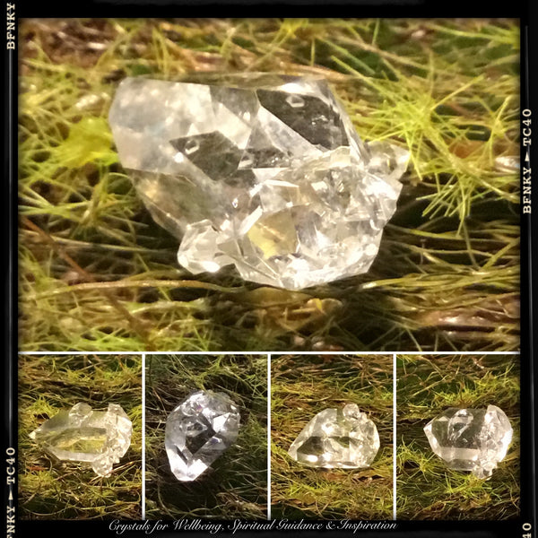 CRYSTALS FOR SPIRITUAL AWAKENING .Herkimer Diamond